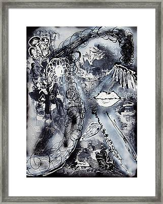 True Power Framed Print by Artista Elisabet