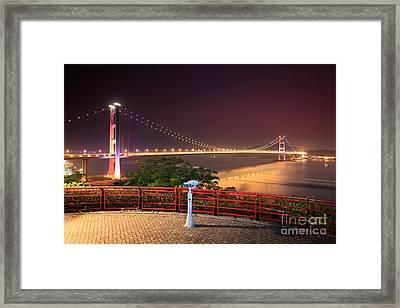 Tsing Ma Bridge Framed Print by MotHaiBaPhoto Prints