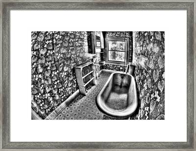Tub Framed Print by Tom Melo