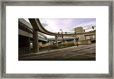 Tube Track Road Framed Print by Gordon Dean II