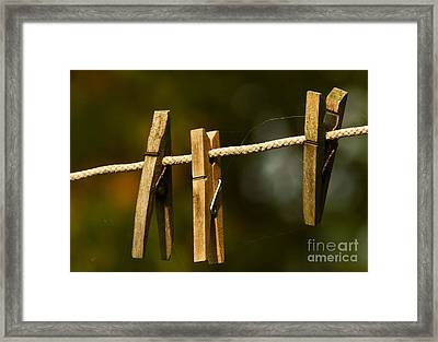 Tuesday Morning Framed Print by Kathy A Welte
