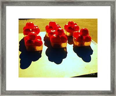 Tuh Ma Toes Framed Print by Joe Jake Pratt