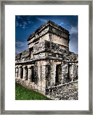 Tulum Ruinas 1 Framed Print by Skip Hunt