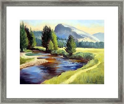 Tuolomne Meadows Framed Print by Karin  Leonard