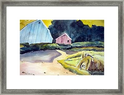Turn In The Road Framed Print by Charlie Spear
