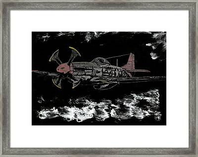 Tuskegee Night Flight Framed Print by Jim Ross