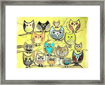 Tweety Branch Framed Print by Amy Sorrell