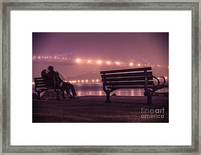Twilight Romance Framed Print by AHcreatrix