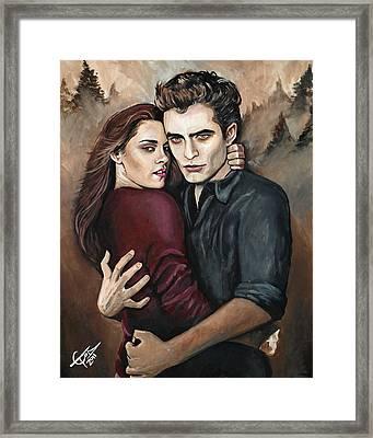 Twilight Framed Print by Tom Carlton