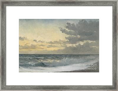 Twilight Framed Print by William Pye