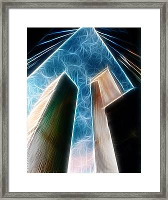 Twin Towers Framed Print by Paul Ward