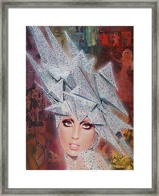 Twinkle Twinkle Little Star Framed Print by Stapler-Kozek