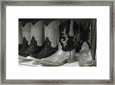 Twinkletoes Framed Print by Anna Villarreal Garbis