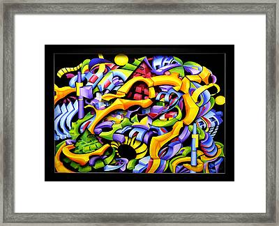 Twisted Blackout Framed Print by Jason Amatangelo