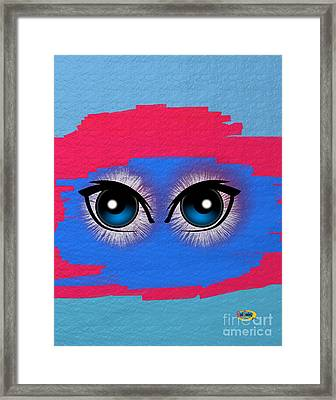 Two Eyes Framed Print by Rod Seeley
