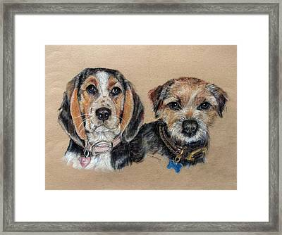 Two Friends Framed Print by Tanya Patey