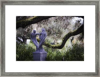 Two To Tango Framed Print by Teresa Mucha
