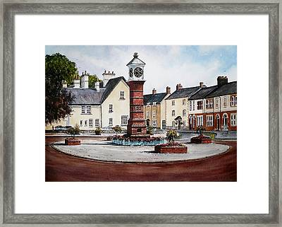 Twyn Square Usk Framed Print by Andrew Read