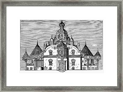 Tycho Brahes Observatory Framed Print by Granger