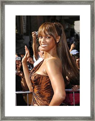 Tyra Banks At Arrivals For 34th Annual Framed Print by Everett