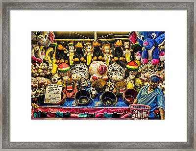 Ubs Of Fun Framed Print by Bob Orsillo