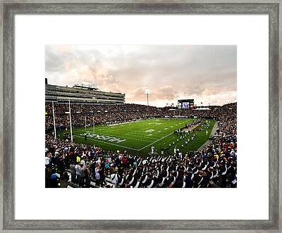 Uconn Rentschler Field Framed Print by University of Connecticut