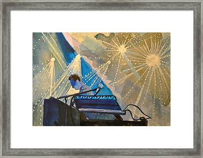 Umphre's Mcgee At The Pony Framed Print by Patricia Arroyo