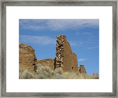 Una Vida Walls At Chaco Framed Print by FeVa  Fotos