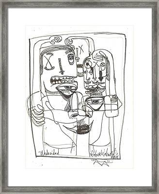 Undecided Framed Print by Robert Wolverton Jr