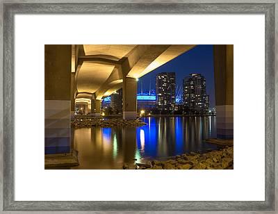 Under Da Bridge Framed Print by Mirco Millaire