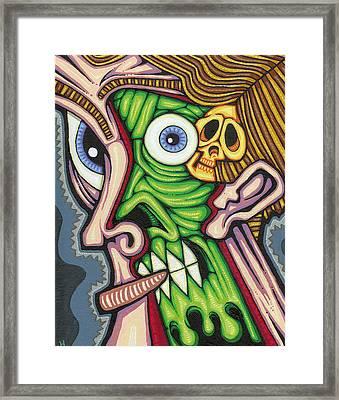 Under The Skin Framed Print by Jason Hawn