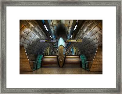 Underground Ship Framed Print by Svetlana Sewell