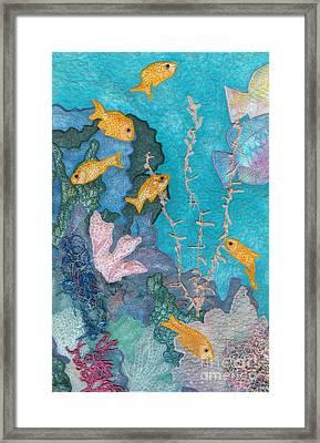 Underwater Splendor II Framed Print by Denise Hoag