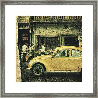 Unfinished Memory Framed Print by Andrew Paranavitana