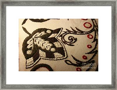 Unfolded - Close-up Framed Print by Carolyn Powers