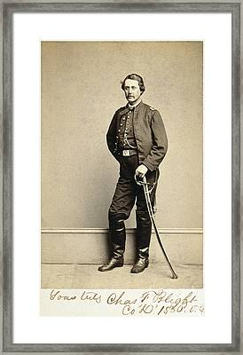 Union Soldier, 1860s Framed Print by Granger