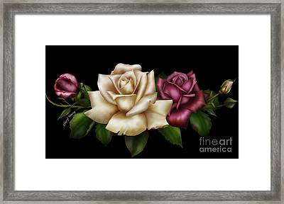 Unity Framed Print by Cheryl Young