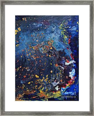 Universe Framed Print by Phil Albone