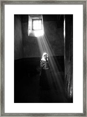 Unknown Tibetan Framed Print by Marko Moudrak