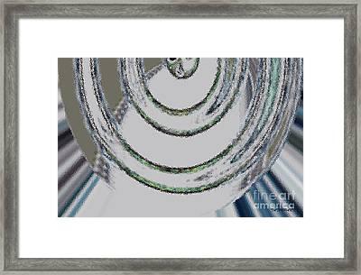 Unlike Dimension  Framed Print by Tatjana Popovska