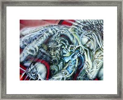 Unspoken Framed Print by David Frantz