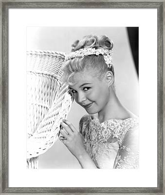 Until They Sail, Sandra Dee, 1958 Framed Print by Everett