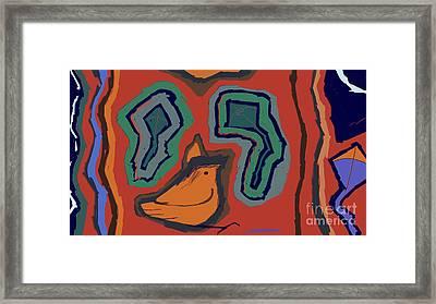 Untitled 25 Framed Print by Vilas Malankar