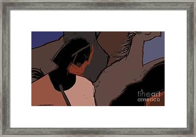 Untitled 29 Framed Print by Vilas Malankar