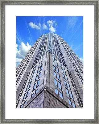 Up In The Sky Framed Print by Kenneth Mucke