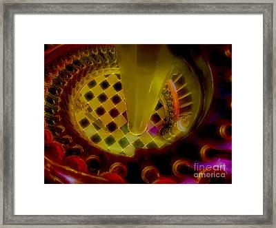 Up The Down Staircase Framed Print by Judi Bagwell