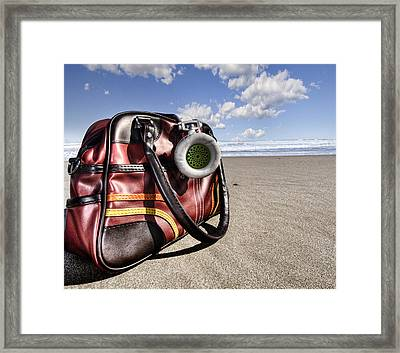 Urban Beach Framed Print by Gabriel Calahorra