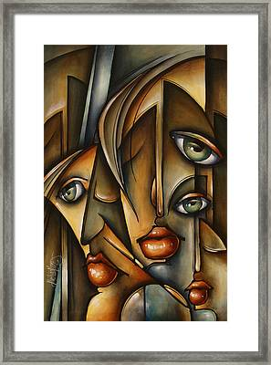 Urban Expression Framed Print by Michael Lang
