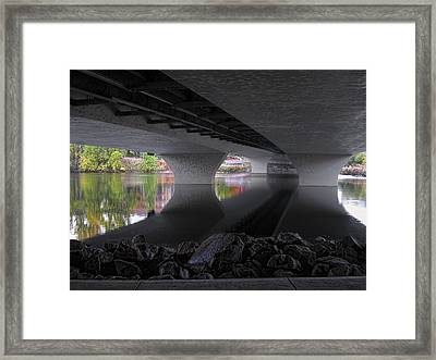 Urban Serenity Framed Print by Daniel Hagerman
