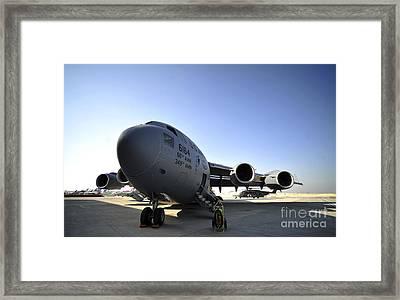 U.s. Air Force C-17 Globemaster IIi Framed Print by Stocktrek Images